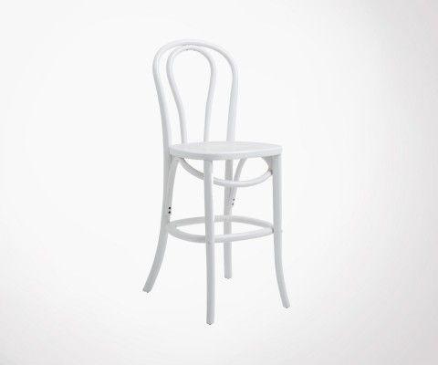Chaise de bar en bois BUVETTE - Nordal