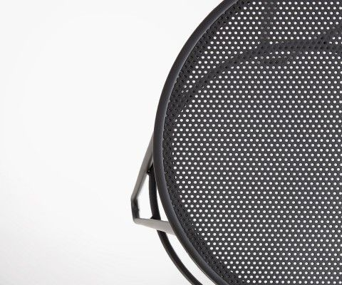 Tabouret bar métal noir 76cm OHIO