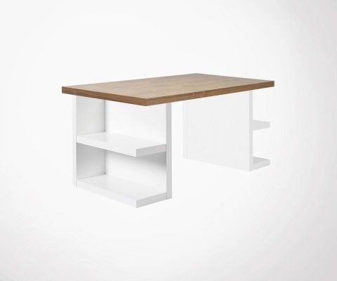 Grand bureau design scandinave 180cm MULTI - Temahome
