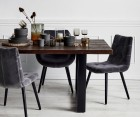 Grande table design bois brut STARKANIS - Nordal