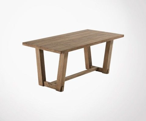 Solid teak dining table 180cm PYNEY