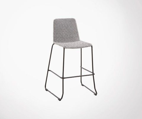 Tabouret de bar empilable int/ext ELINE