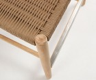Tabouret de table design en bois NAZZO
