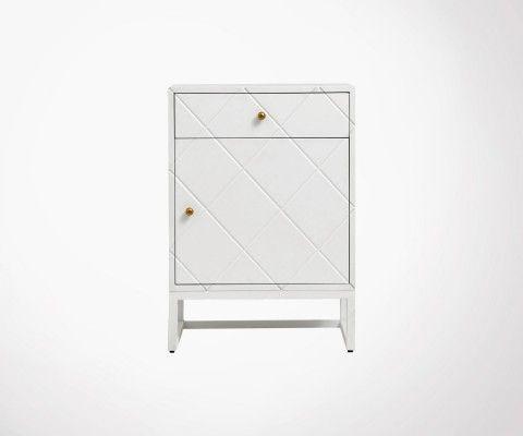 Table de chevet design style art déco BAYO - Nordal