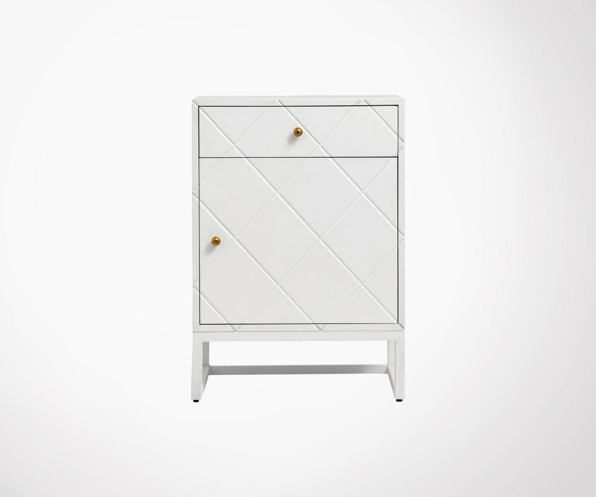 Table De Chevet Design Style Art Deco Bayo Nordal