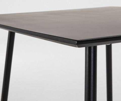 Table carré 75x75cm polyciment peint BAHOS