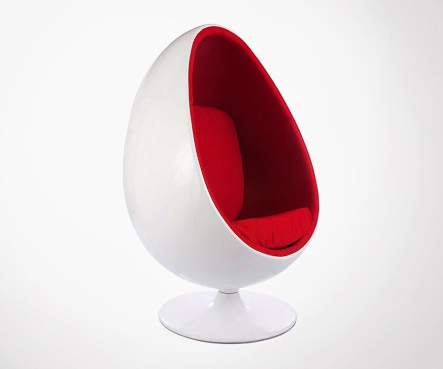 fauteuil oeuf eggy inspir par le designer eero aarnio egg pod chair. Black Bedroom Furniture Sets. Home Design Ideas