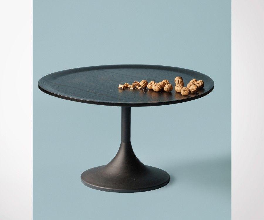 Grande table basse chêne pied tulip 70cm BOWIE