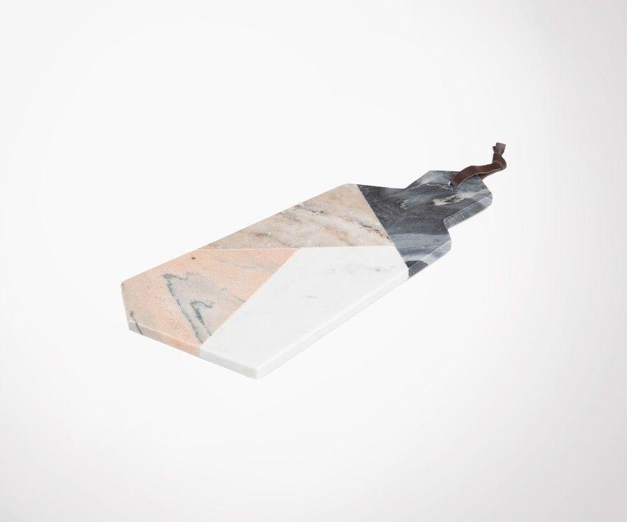 Planche à découper marbre PASTELLE 20x40cm