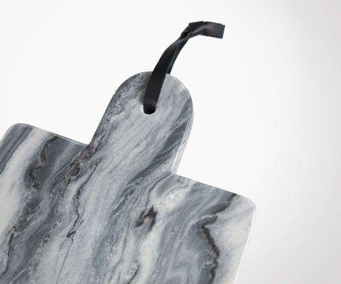 Planche à découper marbre gris GROP 20x35cm