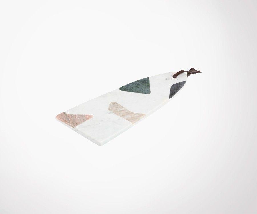 Planche à découper marbre coloré VACHEZ 16x40cm