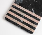 Planche à découper marbre noir RAKET 16x40cm