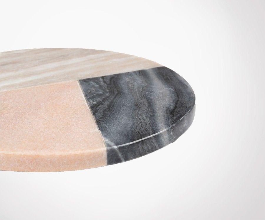 Sous-plat marbre multicolor SOPHIE 20x20cm