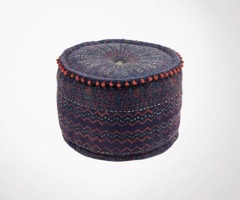 Coussin de sol style bohème ethnique AZOUL