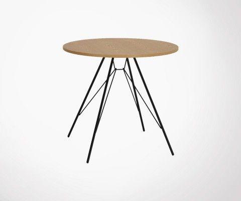 Petite table à manger ronde 80cm PRIMI