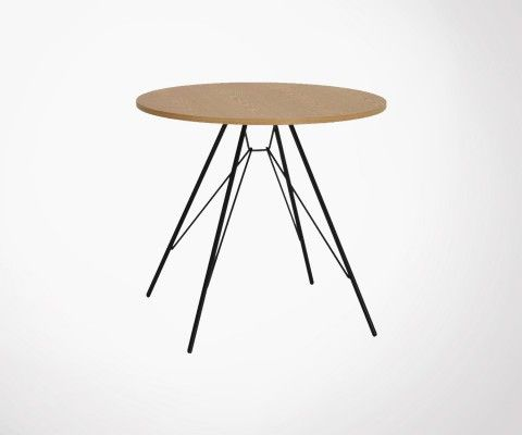 Small round dining table 80cm PRIMI