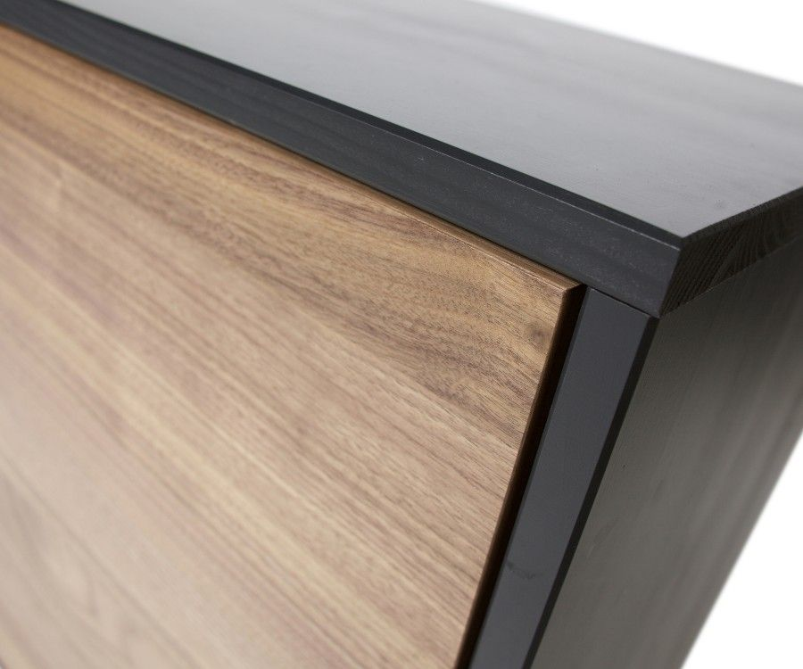 Buffet bas design bois 187cm LAFFERTY
