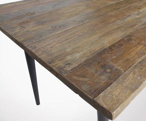 Table à manger bois métal 180cm GUILD