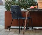 Lot 2 chaises de jardin design WANDER