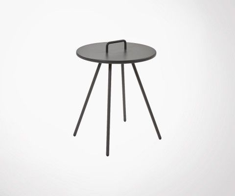 Table d'appoint en metal VERKLEY