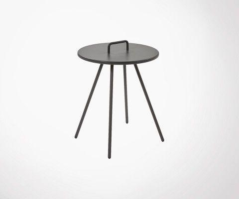 Table d'appoint en metal VERKLEY