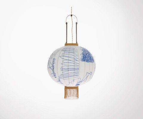 Lanterne traditionnelle PENCIL - HK Living