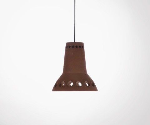 Lampe suspendue terracotta NONSALOR - HK Living