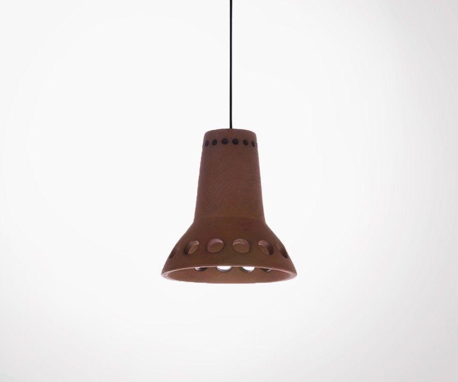 Lampe suspendue terracotta NONSALOR - HK Living