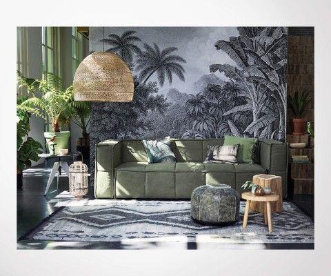 Grand tapis ethnique 180x280cm ZEZ - HK Living
