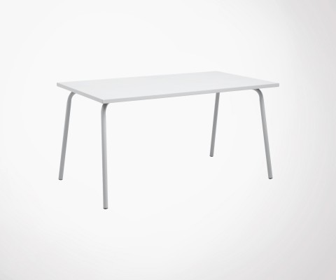Table de jardin 140cm GARDEN - Nordal