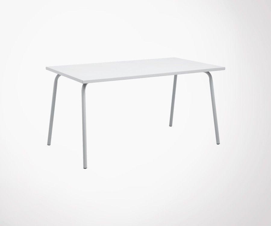 Table de jardin 140cm GARDEN - Nordal