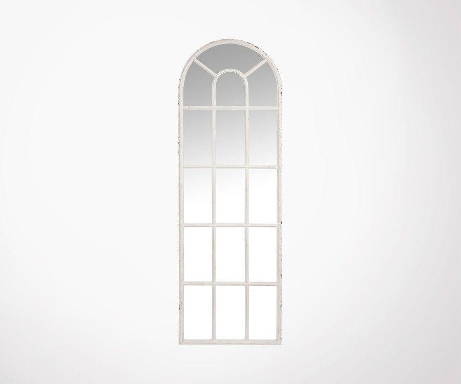Grand miroir fenêtre 165cm WOLDEN - J-Line