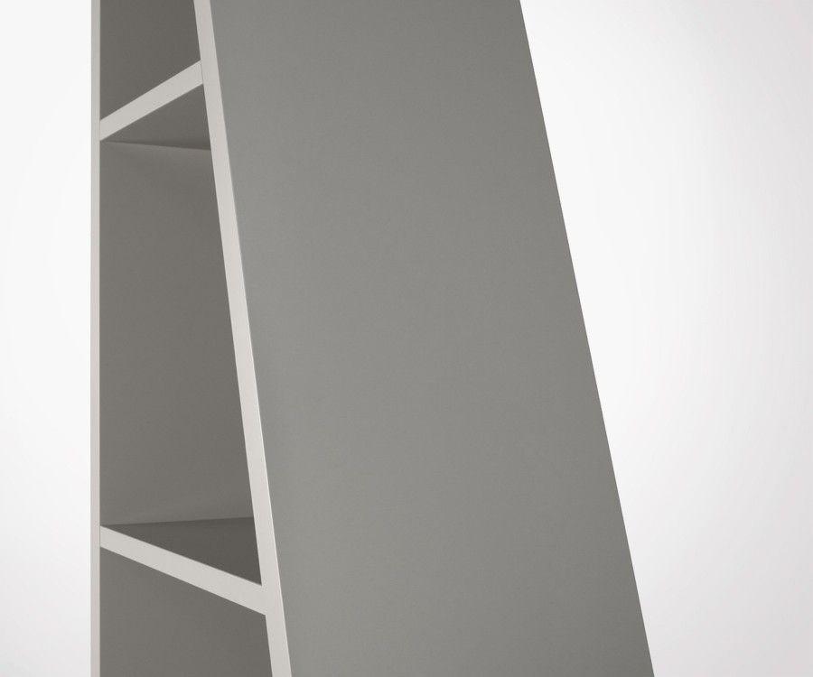 Étagère en diagonale 5 étages bois DELTA - Temahome