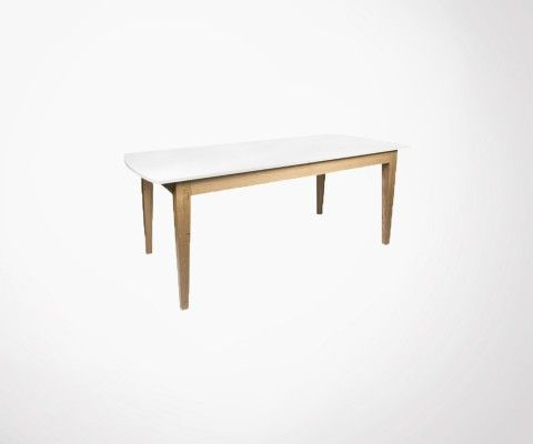 Grande table à manger extensible 190-260cm NICHE - Temahome