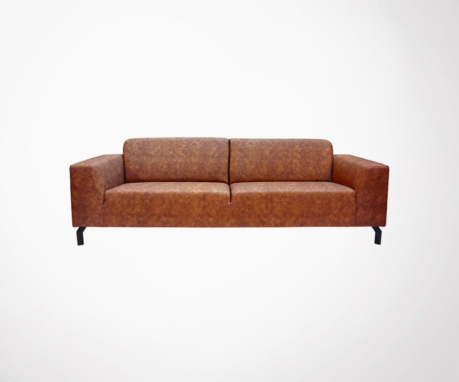 Canapé deux places en cuir TORONTO - Label 51