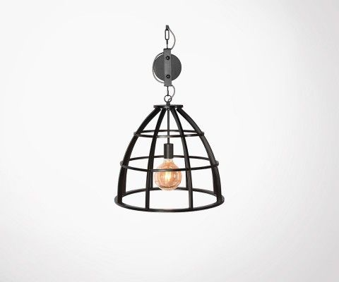 Suspension style industriel HANG - Label 51