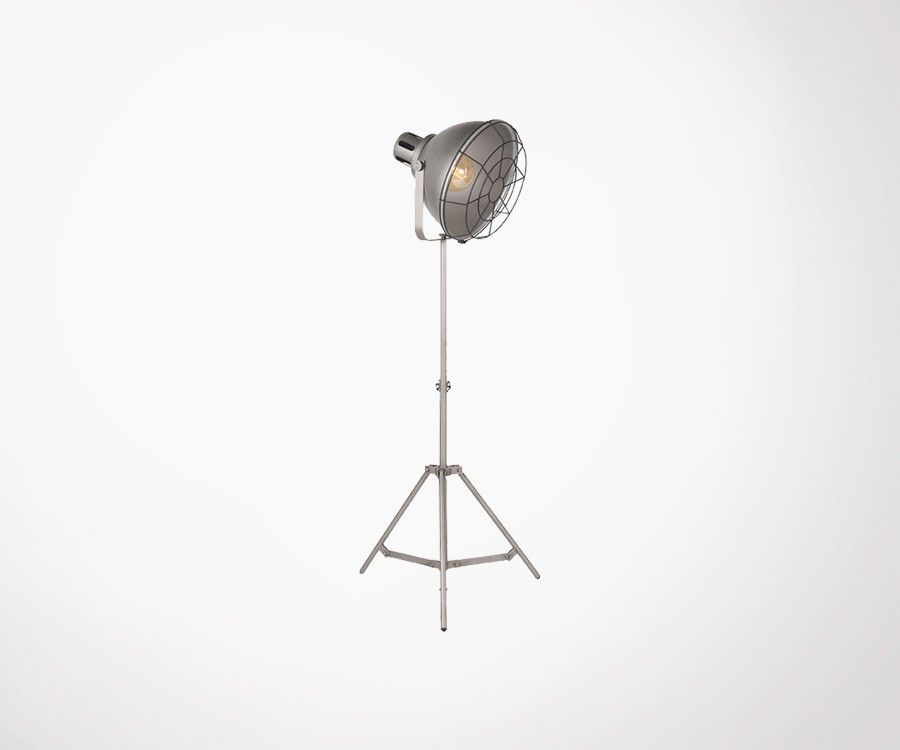 Lampadaire design style industriel en metal GRIF - Label 51