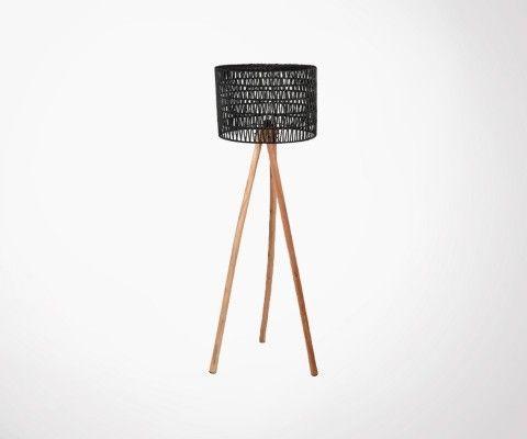 Lampadaire en bois style bohème KARL - Label 51