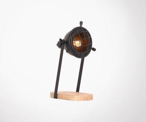 Industriel Label À 51 Poser Petite Lampe Style Felix mnv80NwO