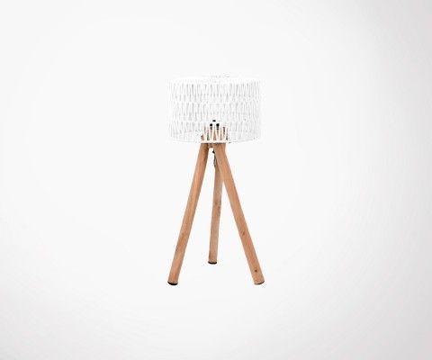 Lampe à poser bois style naturel KARL- Label 51
