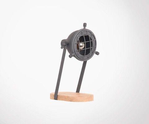 Felix Label Petite Lampe 51 Style Industriel Poser À yNPwO0vm8n