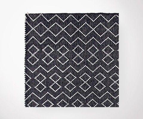 Tapis plat coton TUNIS - 200x300 cm