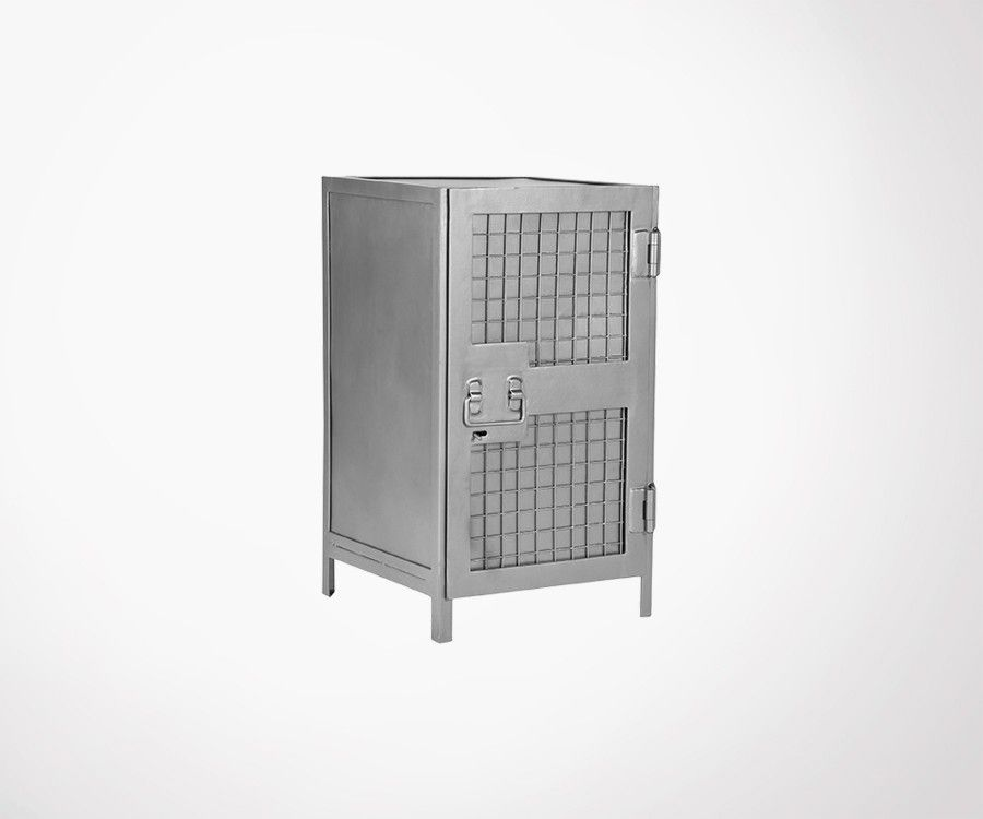 Buffet bas une porte style industriel en metal LUMINE - Label 51