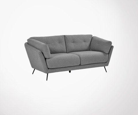 Canapé design en tissu 195cm NURMENA