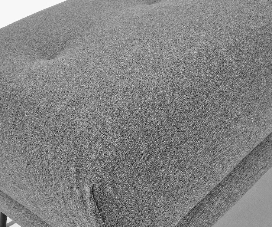 Repose pieds tissu style moderne NURMENA
