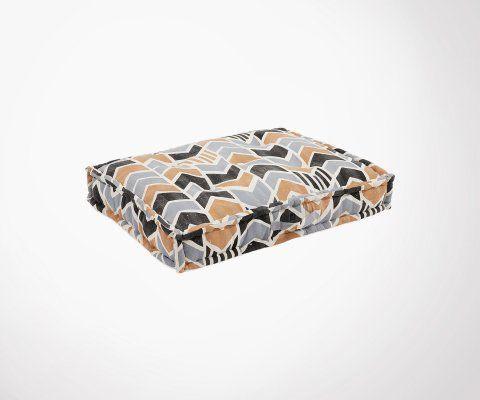 Coussin de sol 60x80cm tissu multicolore EIGHTY