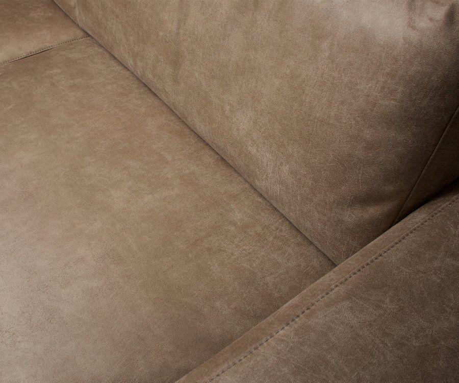 Canapé aspect cuir 3 places REBOUND - Woood