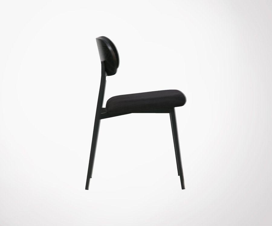 Set de 2 chaises école assise tapissée KLASS - Vtwonen