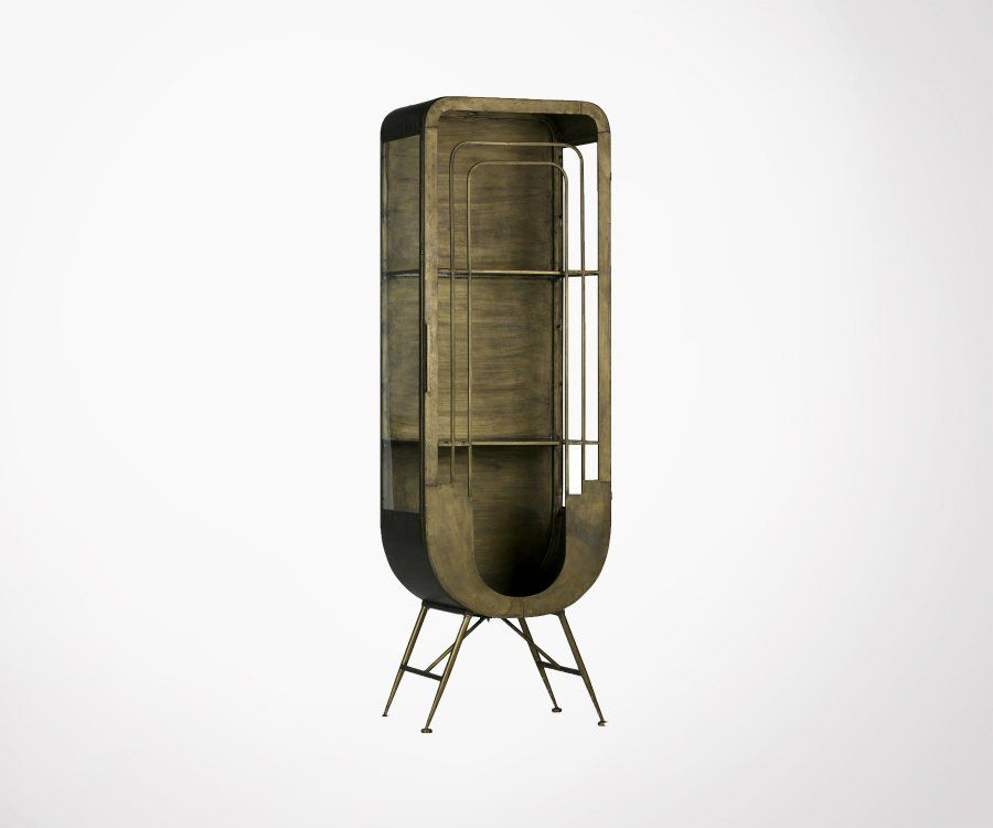 Armoire métallique style antique MATRIX - BePureHome