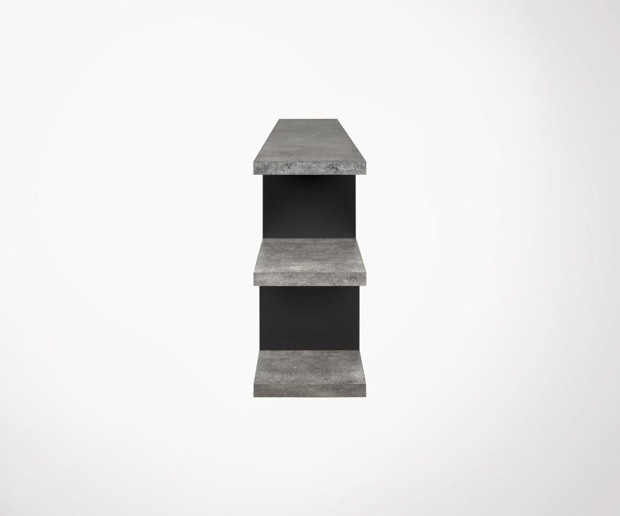 Étagère design aspect béton STEPLOW - Temahome